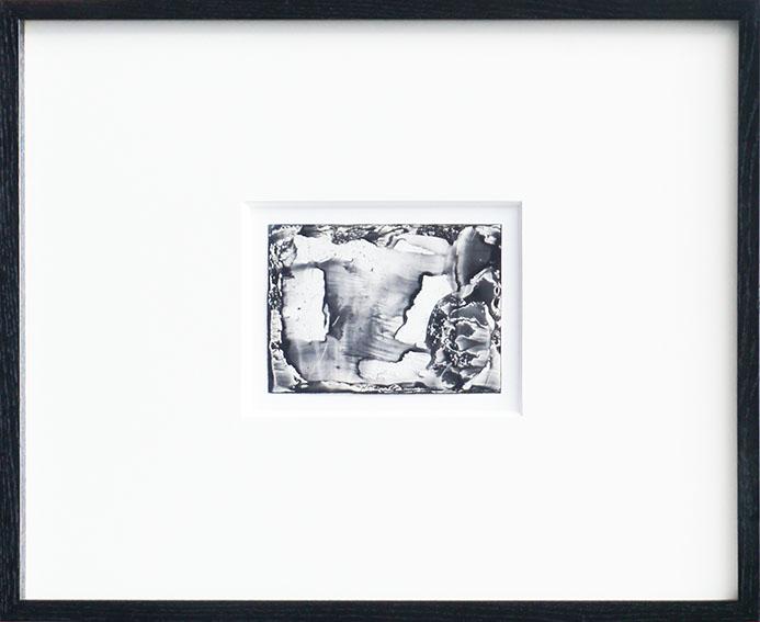 瀧口修造画額「デカルコマニーIII-08」/Shuzo Takiguchi