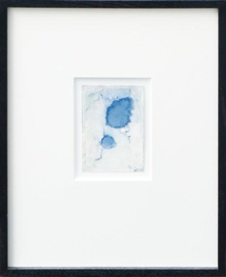 瀧口修造画額「デカルコマニーIII-01」/Shuzo Takiguchi