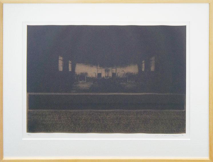 池田良二版画「越境する光」/Ryoji Ikeda