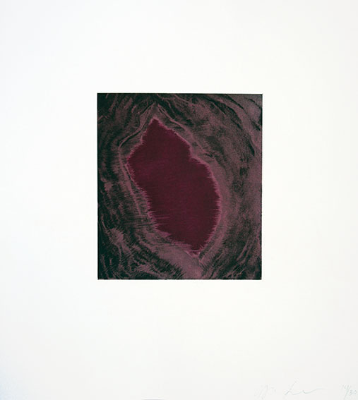 アニッシュ・カプーア版画「Blackness from Her Womb 5」/Anish Kapoor