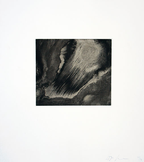 アニッシュ・カプーア版画「Blackness from Her Womb 9」/Anish Kapoor