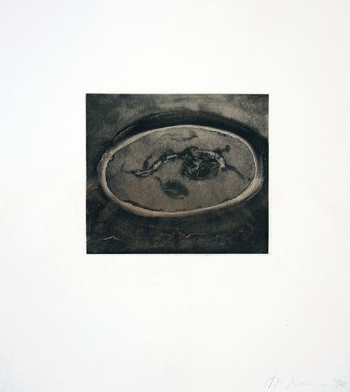 アニッシュ・カプーア版画「Blackness from Her Womb 10」/Anish Kapoor
