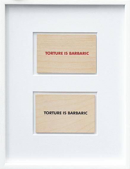 Torture is Barbaric×2/ジェニー・ホルツァー