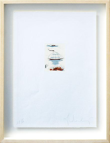 クレス・オルデンバーグ版画額「Sailboat And Hat」/Claes Oldenburg