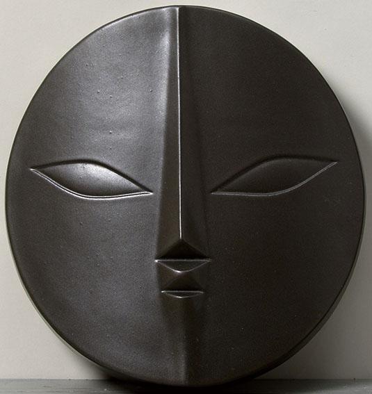 岡本太郎レリーフ「黒い顔」/Taro Okamoto