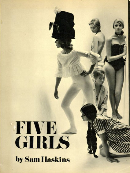 サム・ハスキンス写真集 Sam Haskins: Five Girls/Sam Haskins