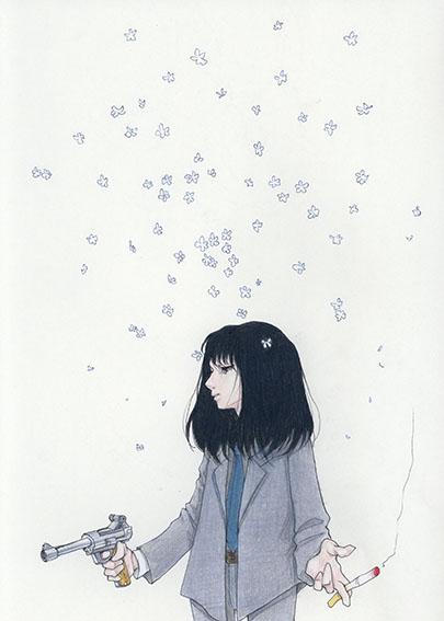 永島千裕ドローイング「鉄が鉄でなくなったら、この世の終わりだ」/Chihiro Nagashima