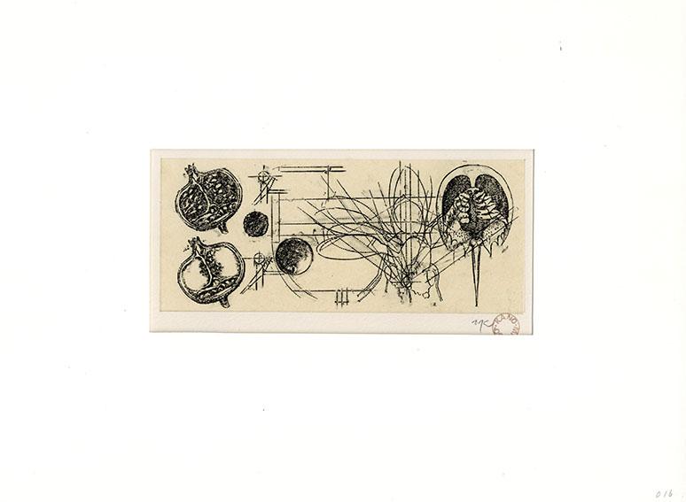 加納光於「詩人のノート K-016」/Mitsuo Kano