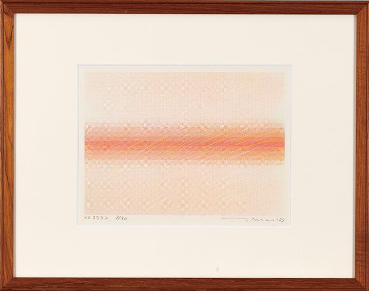 前川強版画額「No8532」/Tsuyoshi Maekawa
