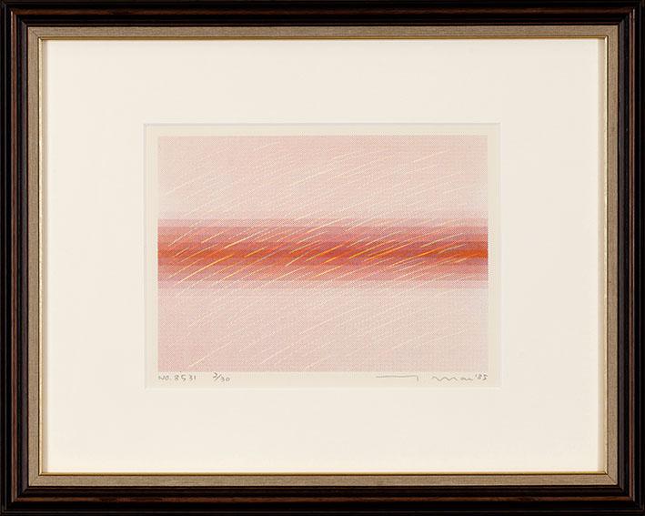 前川強版画額「No8531」/Tsuyoshi Maekawa