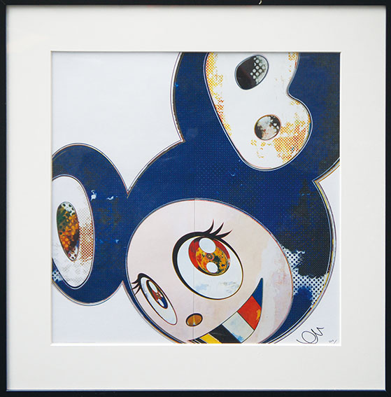 ���������������������And Then 3000 Blue���/Takashi Murakami