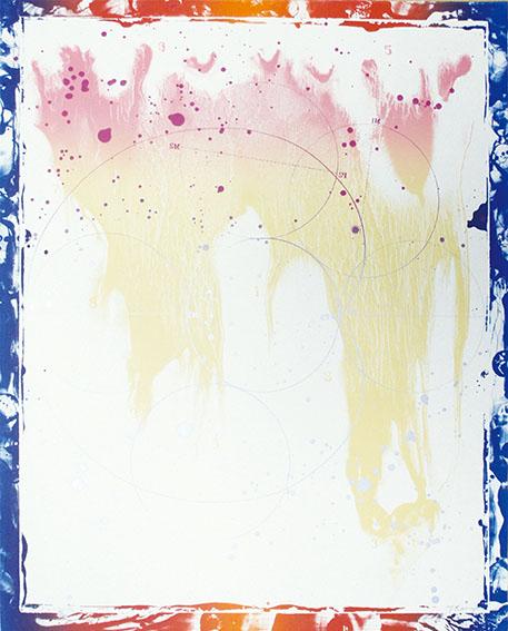 加納光於版画「稲妻捕り-12」/Mitsuo Kano