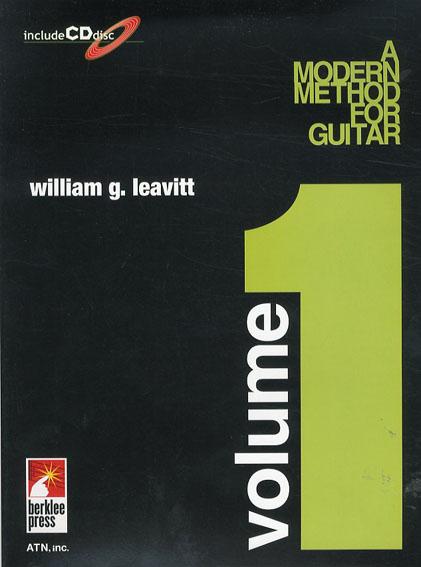 バークリー/モダン・メソッド・ギター Vol.1/William Leavitt 笹島明夫訳