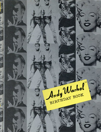 アンディ・ウォーホル Andy Warhol:Birthday Book/