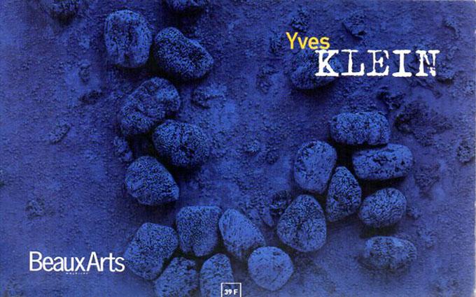 イヴ・クライン Yves Klein: Les hors-serie de Beaux Arts Magazine/