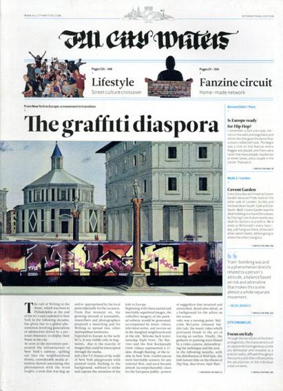 All City Writers  The Graffiti Diaspora/Andrea Caputo