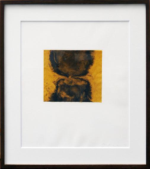 アニッシュ・カプーア版画額「Blackness from Her Womb 2」/Anish Kapoor