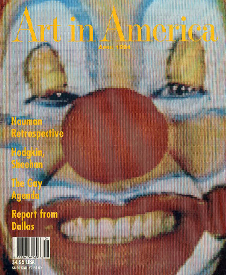 Art In America: April 1994/Brant Publications