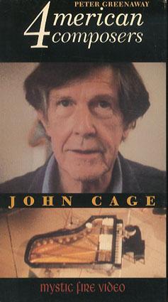 ジョン・ケージ John Cage: 4 Merican Composers VHS/Michael Riesman