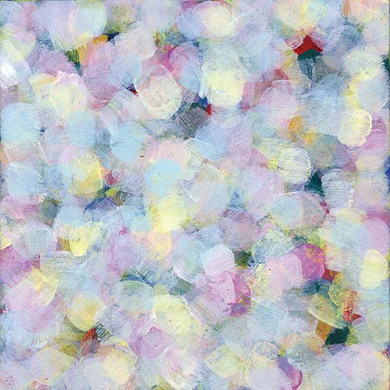 吉岡まさみ画額「光の花」/Masami Yoshioka