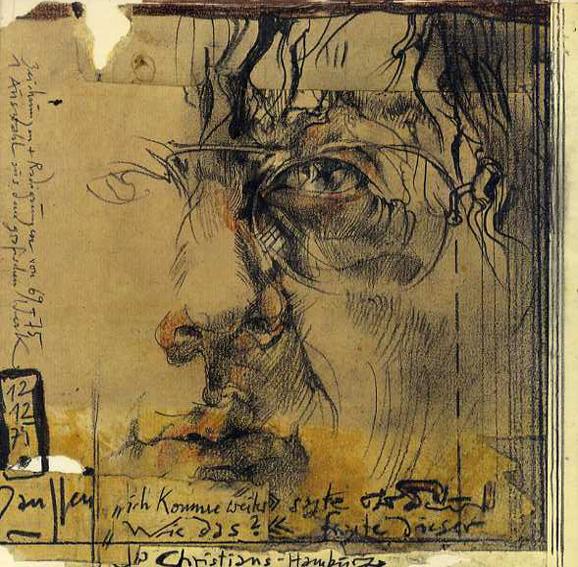 ホルスト・ヤンセン 絵画とエッチング Zeichnungen und Radierungen 1969-1975. Auswahl aus dem graphischen Werk /Horst Janssen