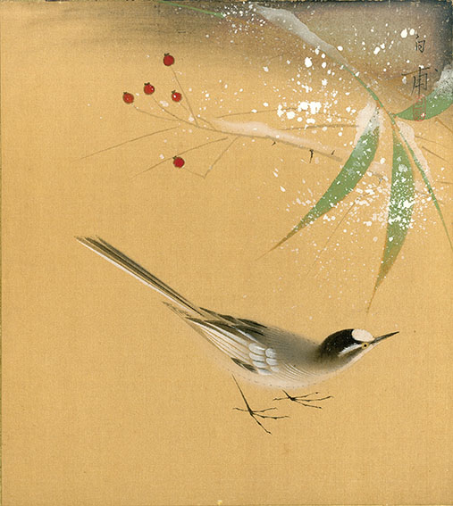 森白甫色紙/Hakuho Mori