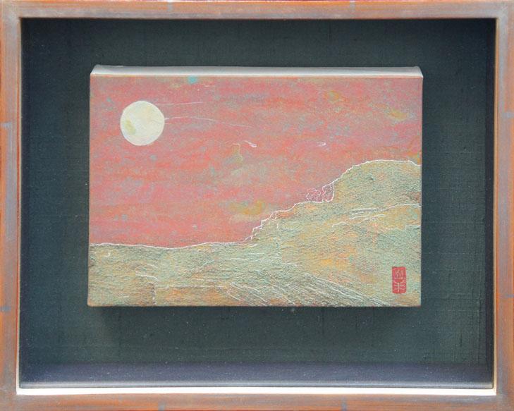 八木幾朗画額「きのうの夕暮れ」/Ikuro Yagi