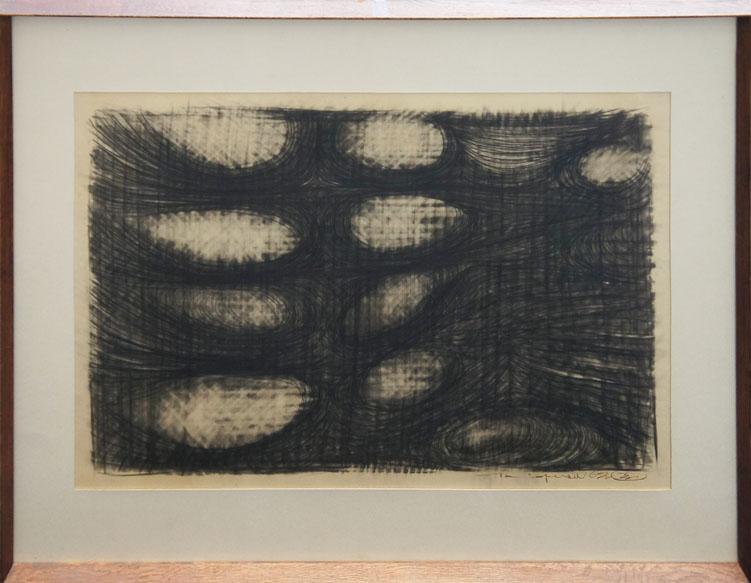豊福知徳画額「作品」/Tomonori Toyohuku
