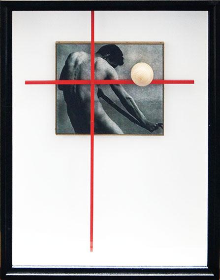 北川健次作品額「クレヲの不信 あるいは『球体』について」/Kenji Kitagawa