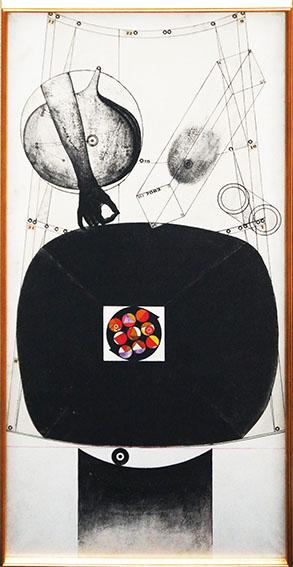 三上誠画額「機構の生理 窓」/Makoto Mikami