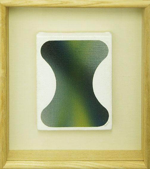 泉茂画額「Work」/Shigeru Izumi