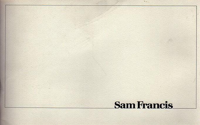 サム・フランシス Sam Francis: Paintings/