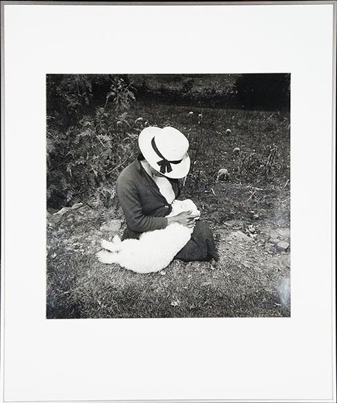 ロザリンド・フォックス・ソロモン プリント額「Catalin's Valentine's Lamb」/Rosalind Fox Solomon