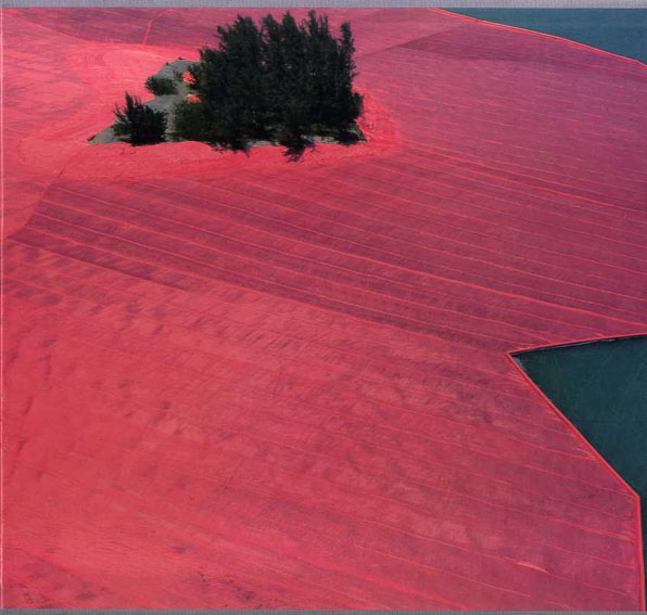 クリスト Christo: Surrounded Islands. Biscayne Bay, Greater Miami, Floria, 1980-83/Christo