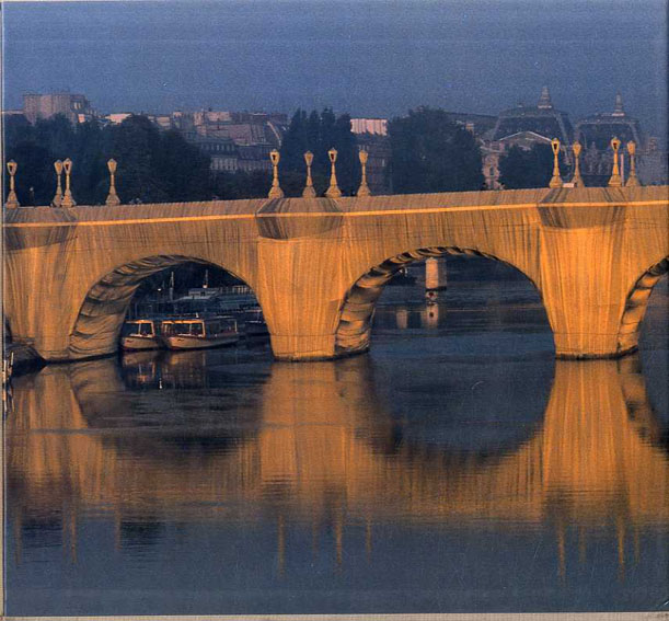 クリスト Christo: The Pont-Neuf,Wrapped,Paris,1975-85/Christo