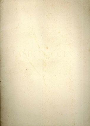 ジャスパー・ジョーンズ Jasper Johns: Lead Reliefs/