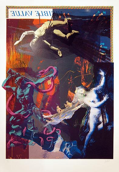 横尾忠則版画「龍の器 V」/Tadanori Yokoo