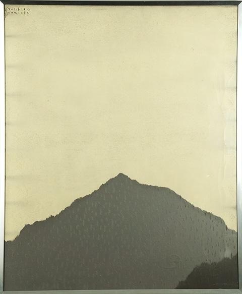 富岡惣一郎画額「Work」/Soichiro Tomioka