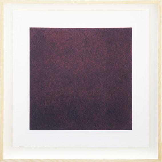 ソル・ルウィット版画額「All Combination of Red」/Sol Lewitt