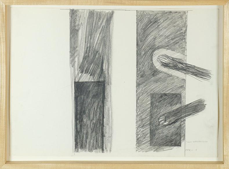 若林奮画額「Untitled」/Isamu Wakabayashi