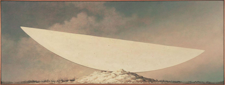 野又穫画額「風見の地 Wind Scape 16」/Minoru Nomata