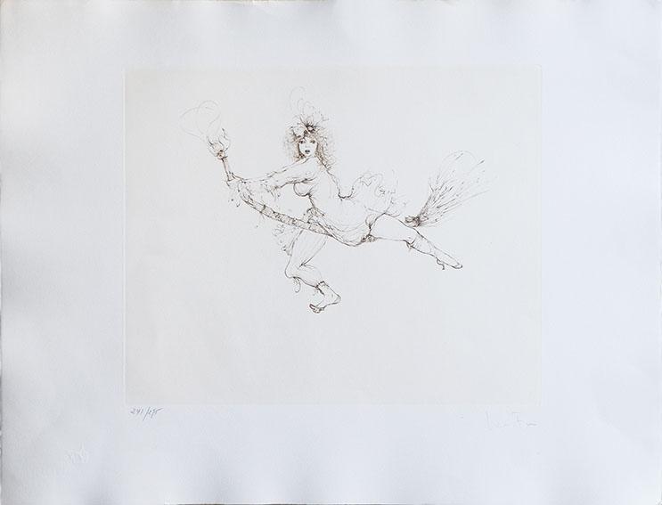 レオノール・フィニー版画2/Leonor Fini