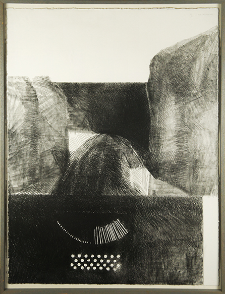 若林奮銅版画額「Underwood-9」/Isamu Wakabayashi