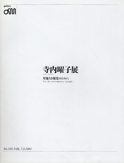 寺内曜子展 対象なき視覚のために/Yoko Terauchi
