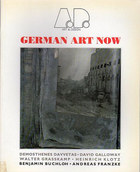 German Art Now Art and Design Profiles/Demosthenes Davvetas