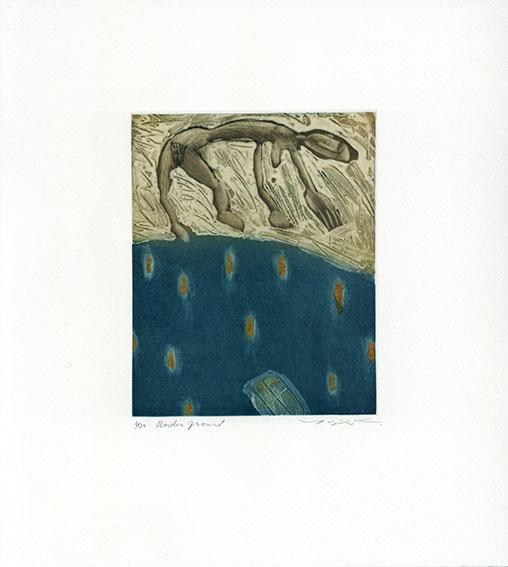 小林裕児版画「Underground」/Yuji Kobayashi