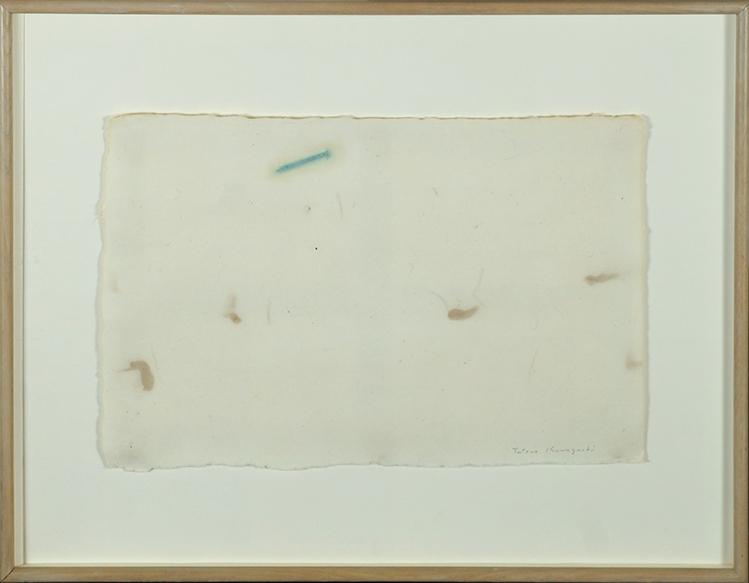 河口龍夫画額「作品」/Tatsuo Kawaguchi