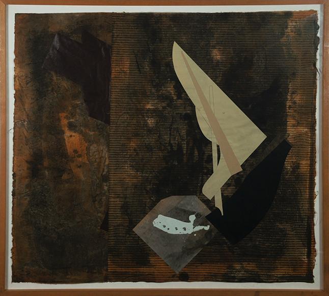 原口典之版画額「A Most Fixed with Clay」/Noriyuki Haraguchi