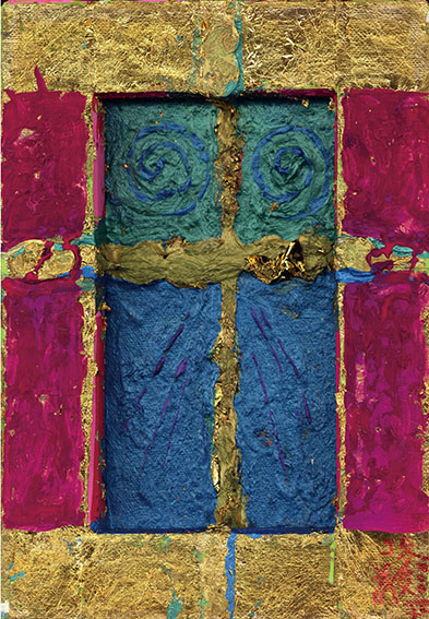 森内敬子作品「大天使ガヴリエルの風 キリスト復活より」 /Keiko Moriuchi