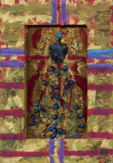 森内敬子作品「大天使ガヴリエル キリストの復活をつぐ<つげる>」 /Keiko Moriuchi